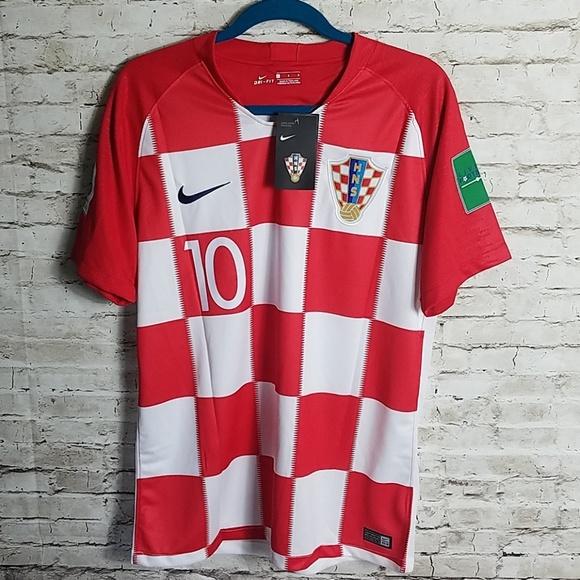 sale retailer 356d0 4df33 Luka Modric Nike Croatia world cup 2018 jersey